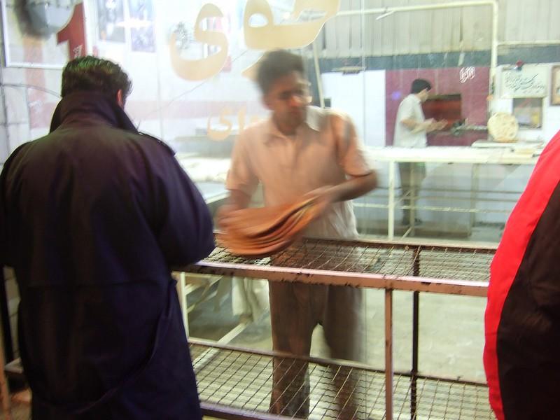 Bakery in Iran