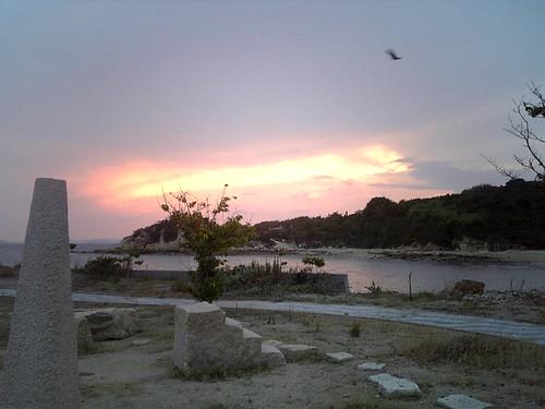 犬島の夕暮れ