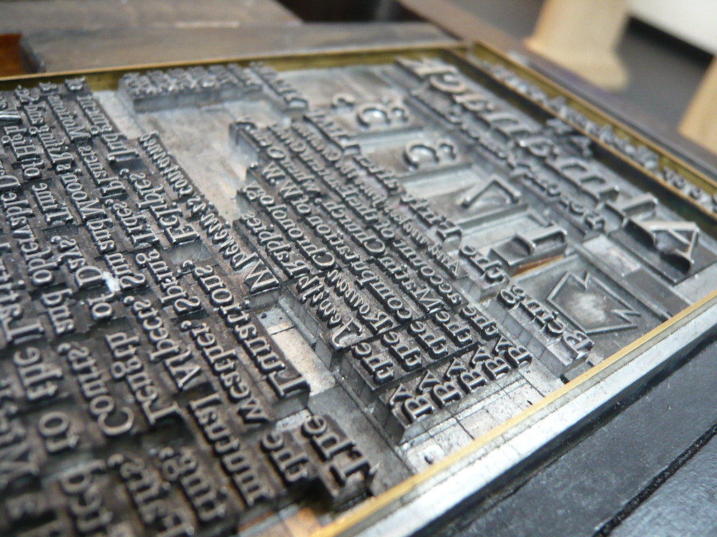 ... The Original Movable Type - by purdman1