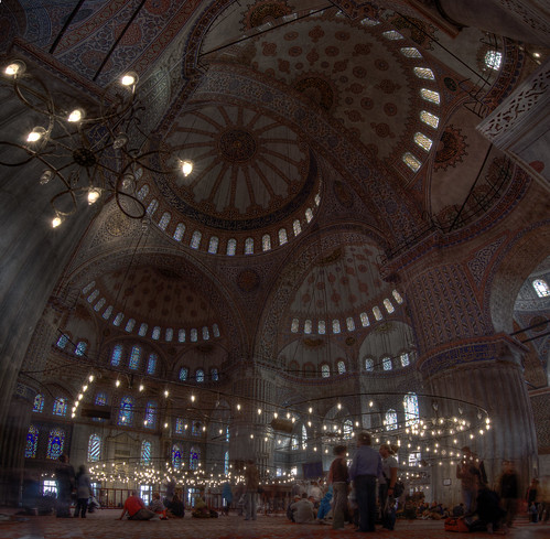 Inside Blue Mosque Istanbul Constantinople Large HDR Panorama | by zoutedrop