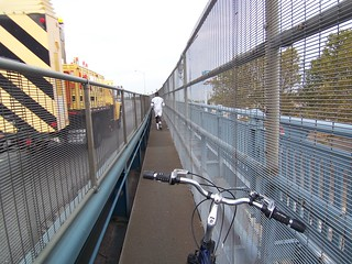 Cattle Chute - North Walkway Ben Franklin Bridge | by Philly Bike Coalition