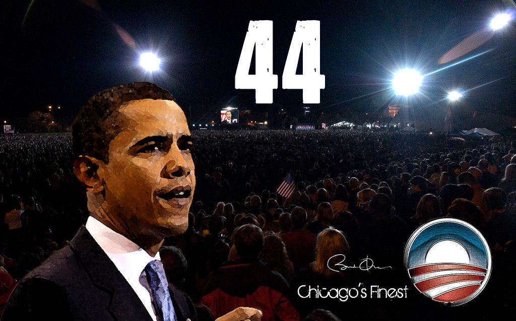 Barack Obama 44 HD Wallpaper