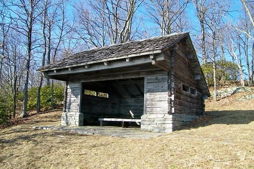 park blue mountain ridge parkway shelter bluff doughton