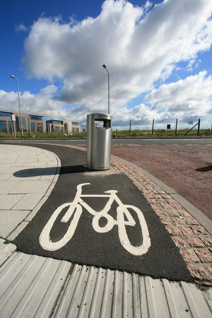 Silly Cycle Path - Gateshead