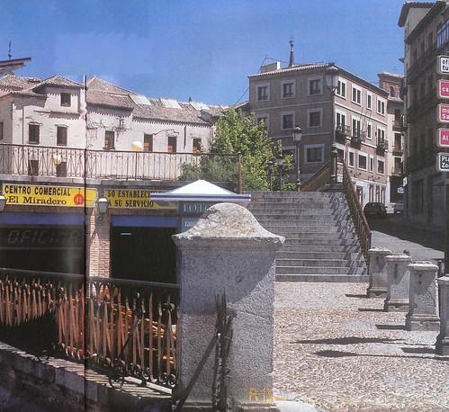 Paseo del Miradero (Toledo). Foto años 90