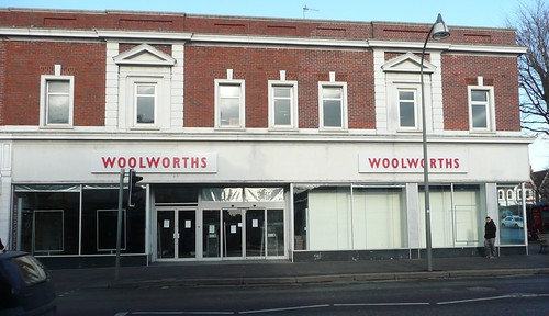 Empty Woolworth's Hove