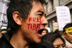 Tibet Protest, London, March 22 - xii | by Tanya Nagar