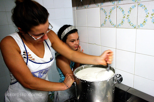 Watching the glaze be prepared for the taralli | by MsAdventuresinItaly