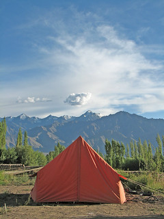 Camp @ Leh Valley | by wildxplorer