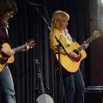 Thu, 11/03/2004 - 1:44pm - The Indigo Girls on stage at a WFUV Marquee member event