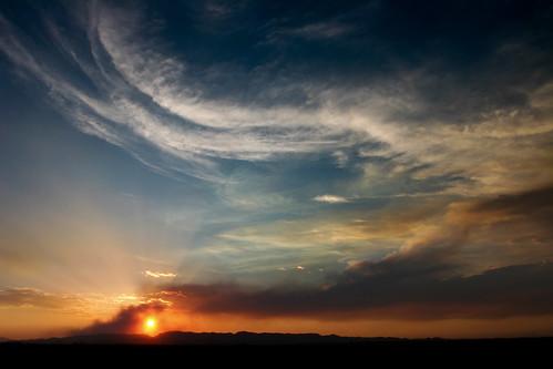 sunset arizona sun nature clouds landscape fire canon20d photoblog portfolio naturesfinest xdr 1740mmf4l azwsunset ethanfire
