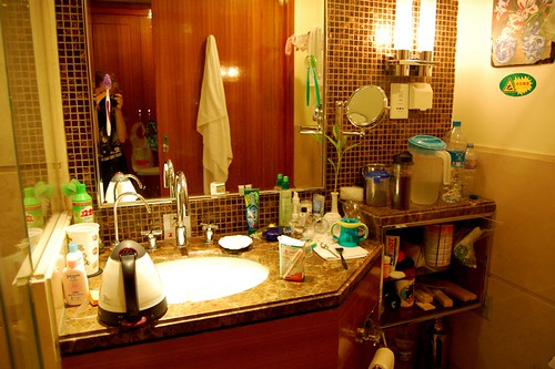 Our hotel bathroom/multi-purpose room | by cathyse97