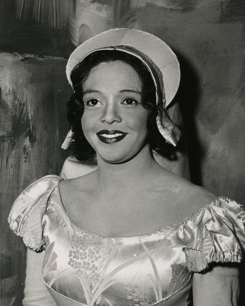 Adele Addison   Adele Addison-Berger '48 starring as Gilda i…   Flickr