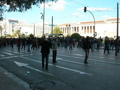 10-12-2008 14:22:43 Protest in Athens | by endiaferon