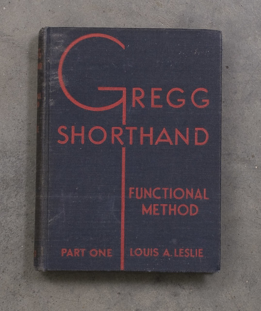 Gregg Shorthand | Joe Galbreath | Flickr