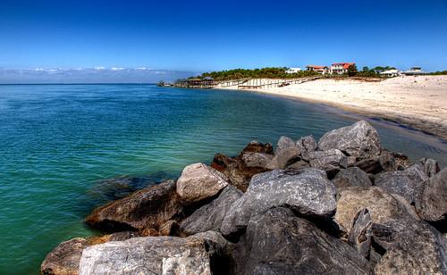 blue beach st island george nikon rocks florida shore nikkor hdr 2470 d700 arturodonate