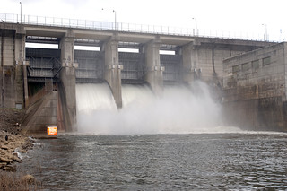 J. Percy Priest Dam spills water | by USACE HQ