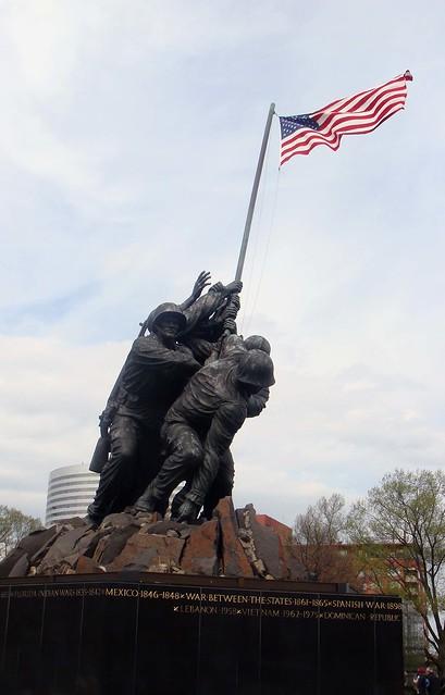 The Marine Memorial....