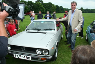 Jeremy Clarkson and James May Top Gear presenters with my Lancia Beta Coupe  Stanford Hall 2008 IMG_6342 | by tonylanciabeta