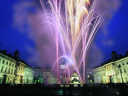 Fantastic Fireworks at Somerset House