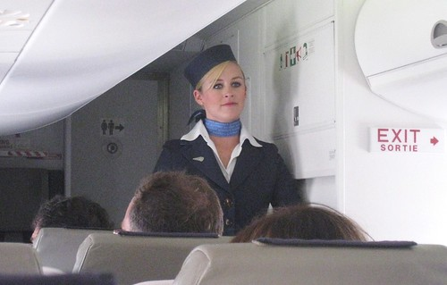 Flight attendants are pretty cute too | by Tom Purves