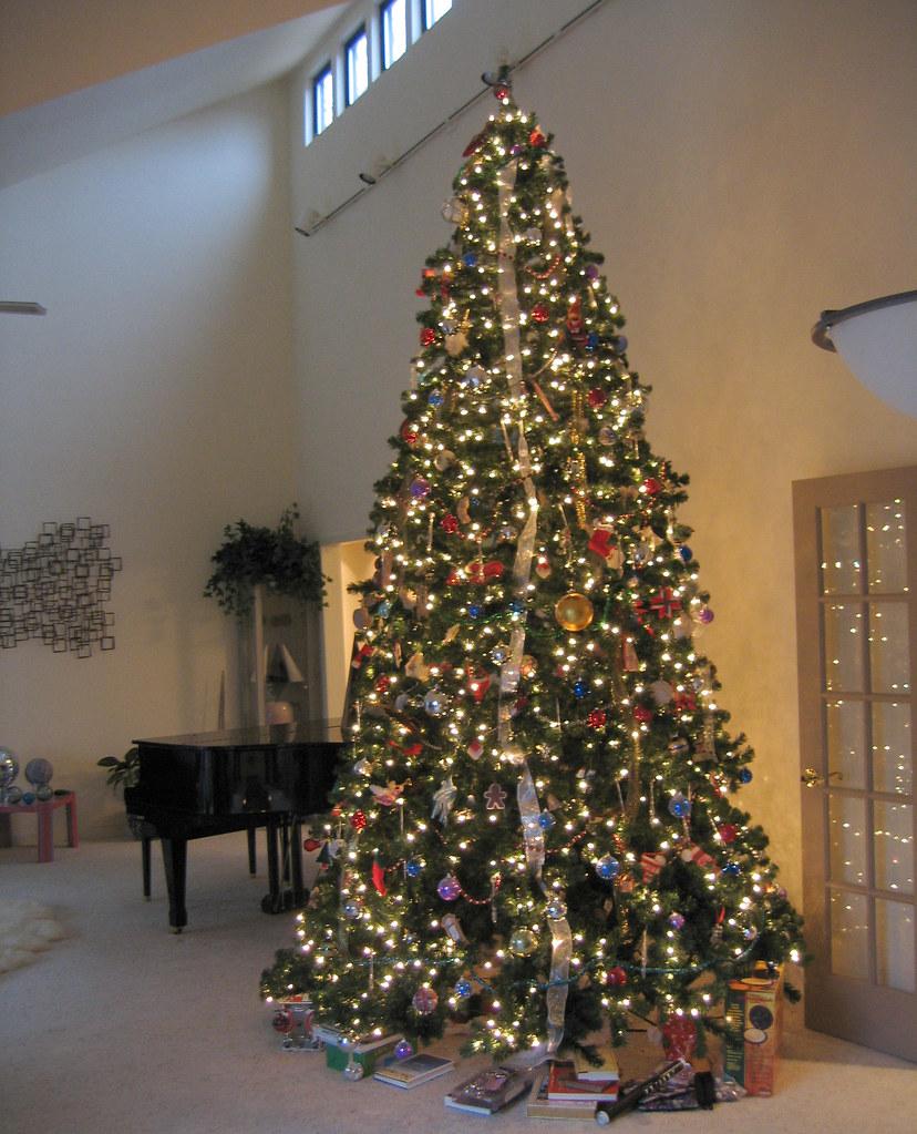 12 Foot Christmas Tree.20050105 Mom And Dad S House First Christmas Season