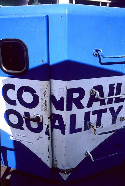 Conrail Quality Fading Fast