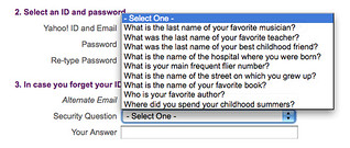 Security Questions | by Dave Delaney