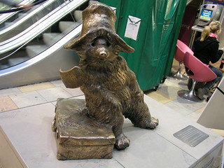 Paddington Bear at Paddington Station, London | by carmen_seaby