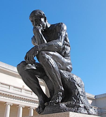 The Thinker | by gosheshe
