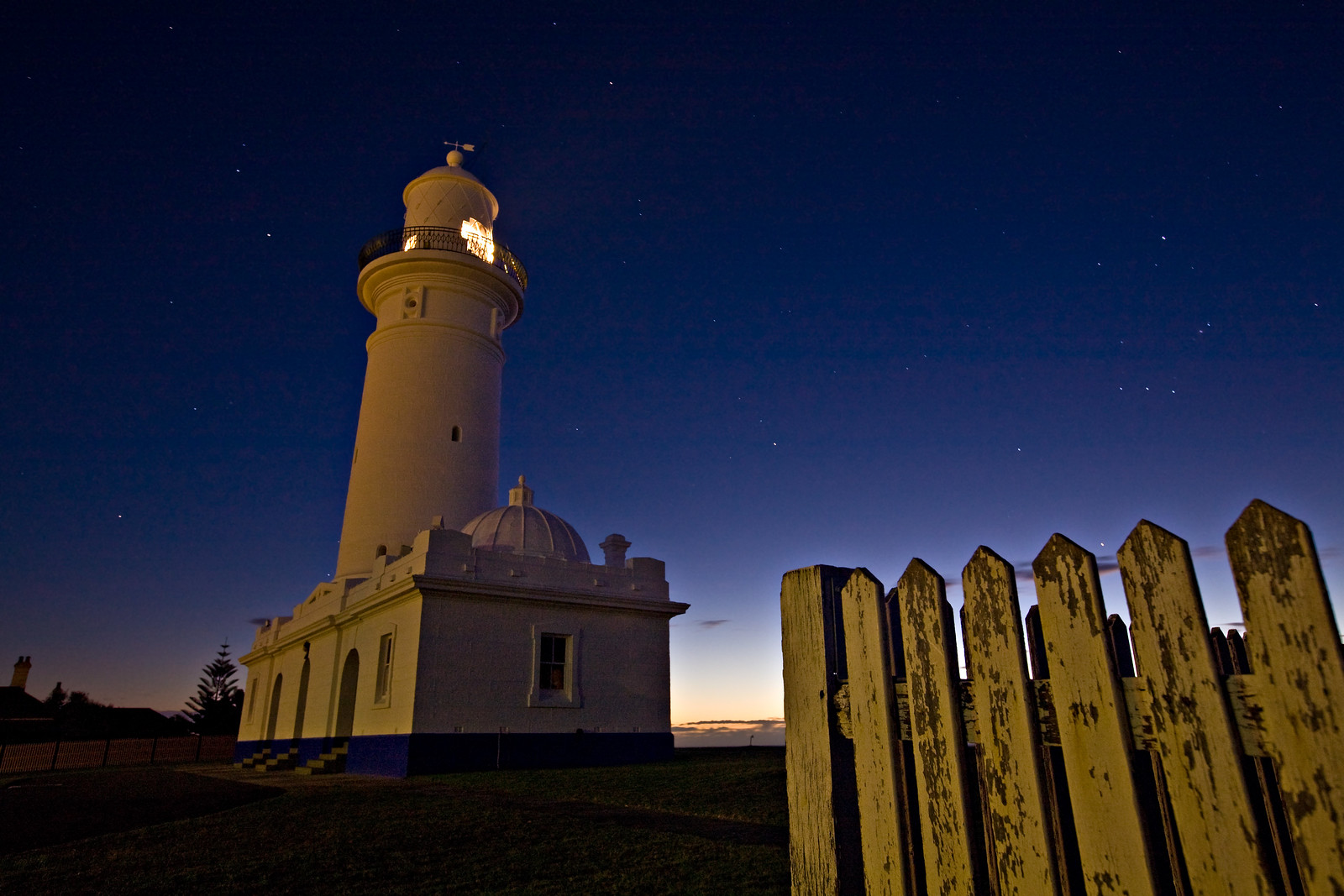 Macquarie Lighthouse at Dawn