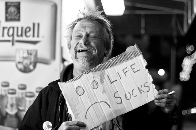 Happy and Homeless