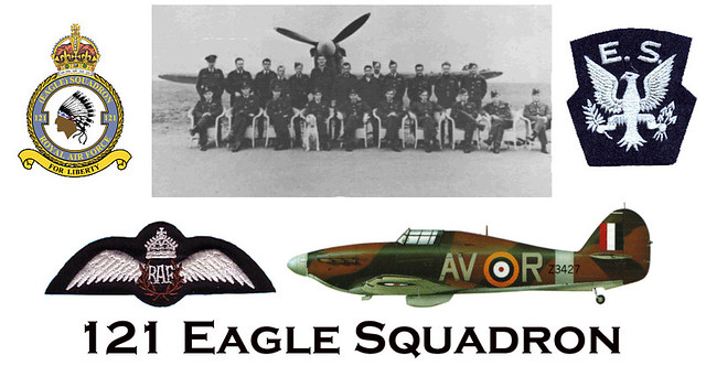RAF 121 Eagle Squadron | Formed on 14 May 1941 as No  121 (E