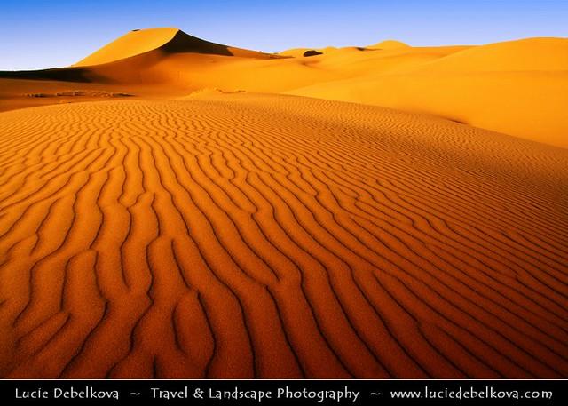 Iran - Dunes at Maranjob at Dasht-e Kavir Desert