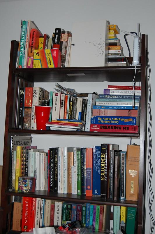 Messy Shelves