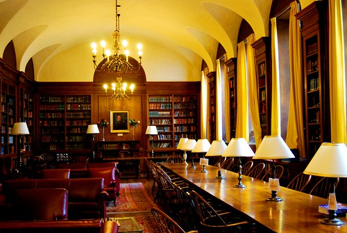 Adams House (Harvard): Library of | by Paul Lowry