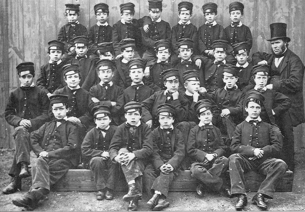 522869225 Victorian School 1862 | These are the boys from the Chelmsfo… | Flickr