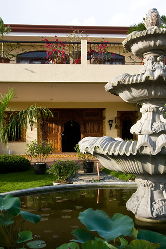 Pavilion facade | by Villa Crisanta