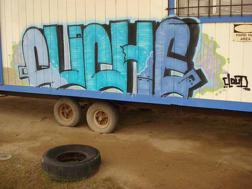 Cliche Bakersfield Graffiti Art   by anarchosyn