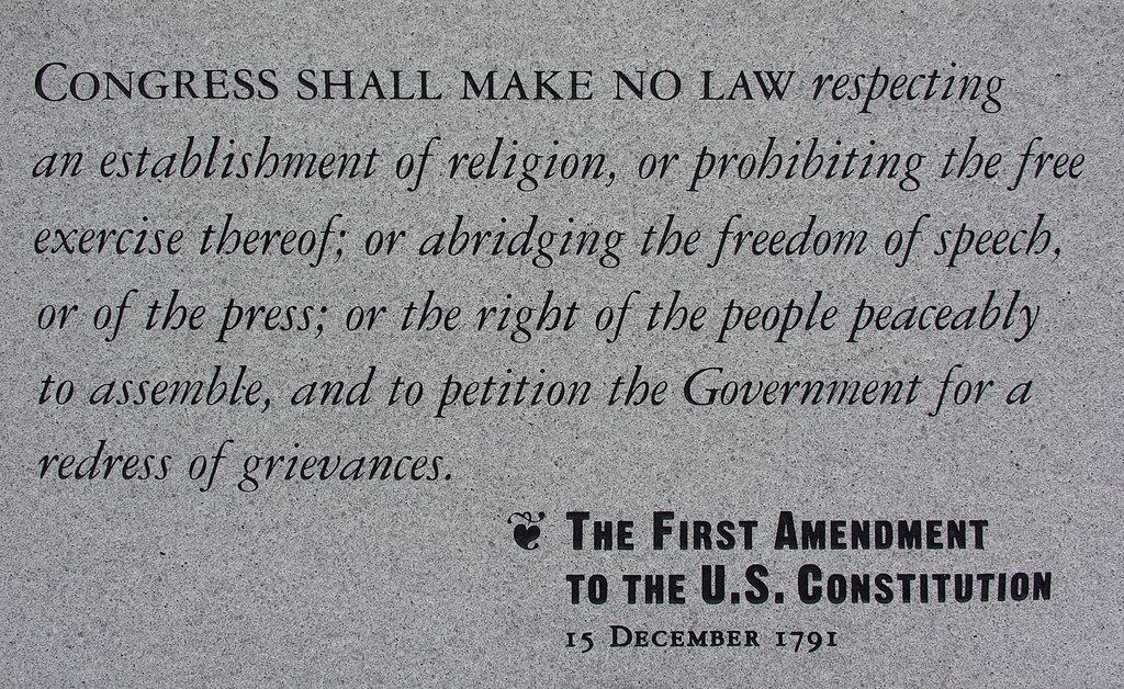 Image result for free speech in constitution