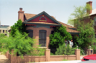 Robert's house in Tucson