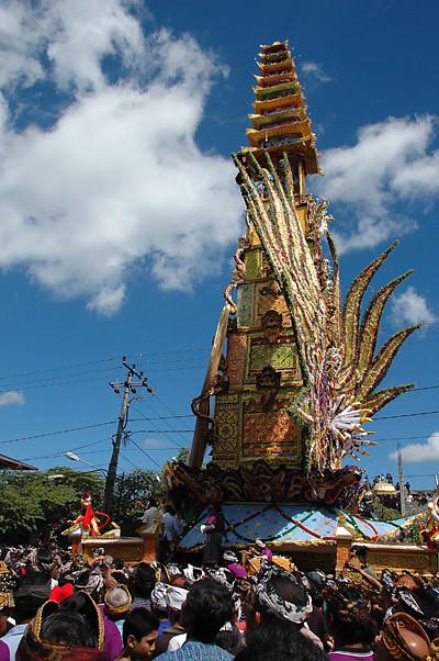 Ngaben in Bali 2008