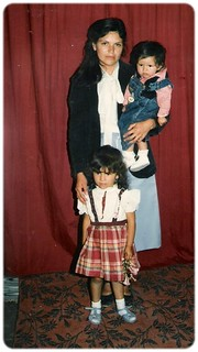 Evelia, Erika,  y yo