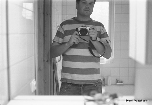 Self portrait, summer of 08 | by Sverrir Valgeirsson