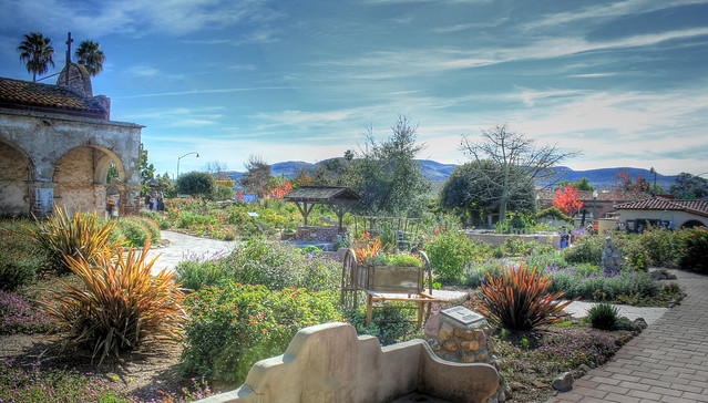 Mission San Juan Capistrano Gardens