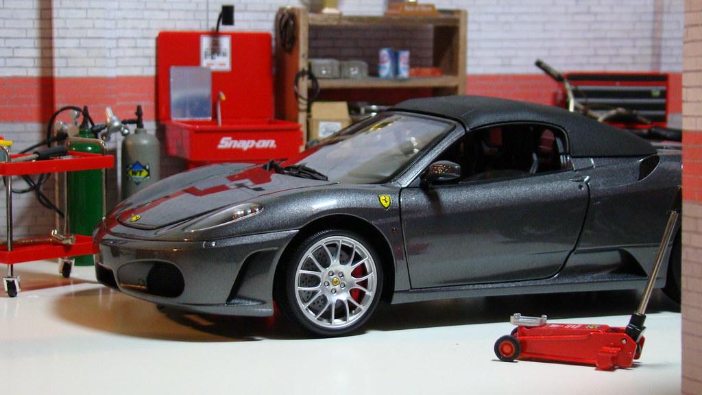 Ferrari F430 Spider (Miami Vice Movie)   Diecast 1/18