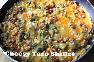 Cheesy Taco Skillet | by NY Foodie Family