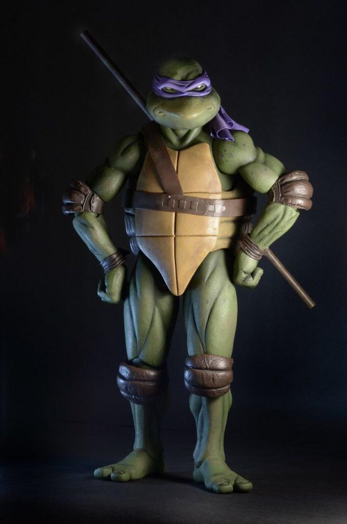 Donatello 1//4 Scale 1990 Action FigureNECA TEENAGE MUTANT NINJA TURTLES