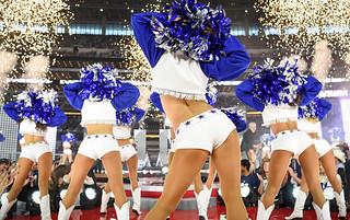 Hot cheerleaders butts