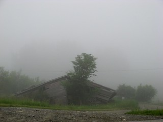 foggy derelict | by jahansell